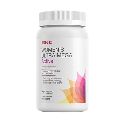 Витамины для женщин GNC Womens Ultra Mega Active (90 таб)