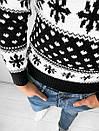 Мужской свитер с зимним принтом, Турция (две модели), фото 5