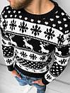 Мужской свитер с зимним принтом, Турция (две модели), фото 6
