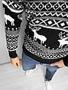 Мужской свитер с зимним принтом, Турция (две модели), фото 7