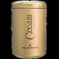 Маска для волос восстанавливающая с экстрактом льна Kleral System Semi Di Lino (разлив) 100 грамм