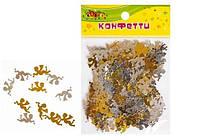 Набор декоративных ангелов, золото/серебро, 20*10 мм, 10 грамм, Kidis, 8870, 143439