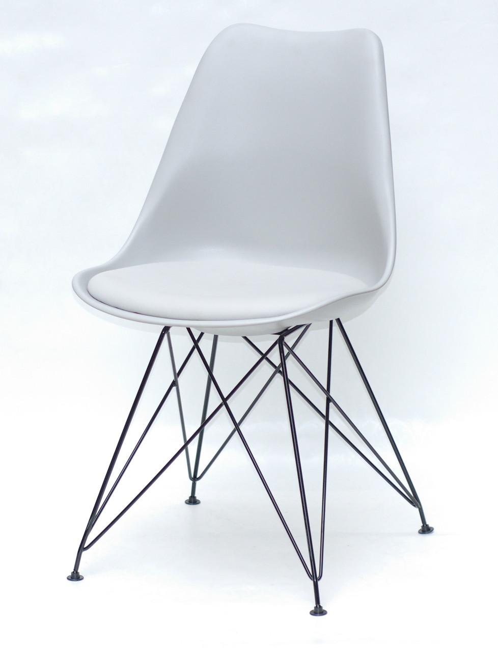 Стул Milan BK-ML, светло-серый