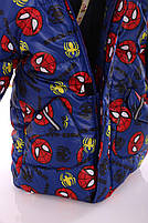 Куртка Евро для мальчика Spiderman синяя (размеры 92, 98, 104 и 116), фото 3