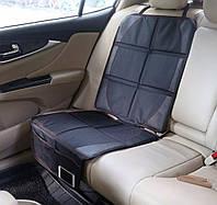 Защитный чехол на сидение автомобиля для автокресла, коврик под автокресло, универсальный, большой