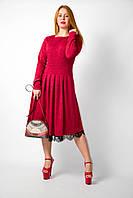 Платье женское трикотажное от бренда Adele Leroy.