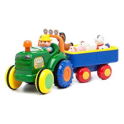Игровой набор Kiddieland Трактор фермера  ( укр. или рус.яз )