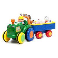Игровой набор Kiddieland Трактор фермера  ( укр. или рус.яз ), фото 1
