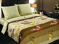 Семейное постельное белье-Вальс оливка