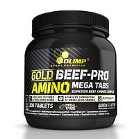 Аминокислоты Olimp Labs Gold BEEF-PRO Amino (300 таб)