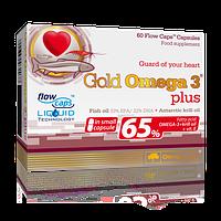 Комплекс незамінних жирних кислот Olimp Labs Gold Omega 3 Plus (60 капс) (103131) Фірмовий товар!