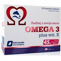 Комплекс незаменимых жирных кислот Olimp Labs Omega 3 45% + Vitamin E (120 капс)