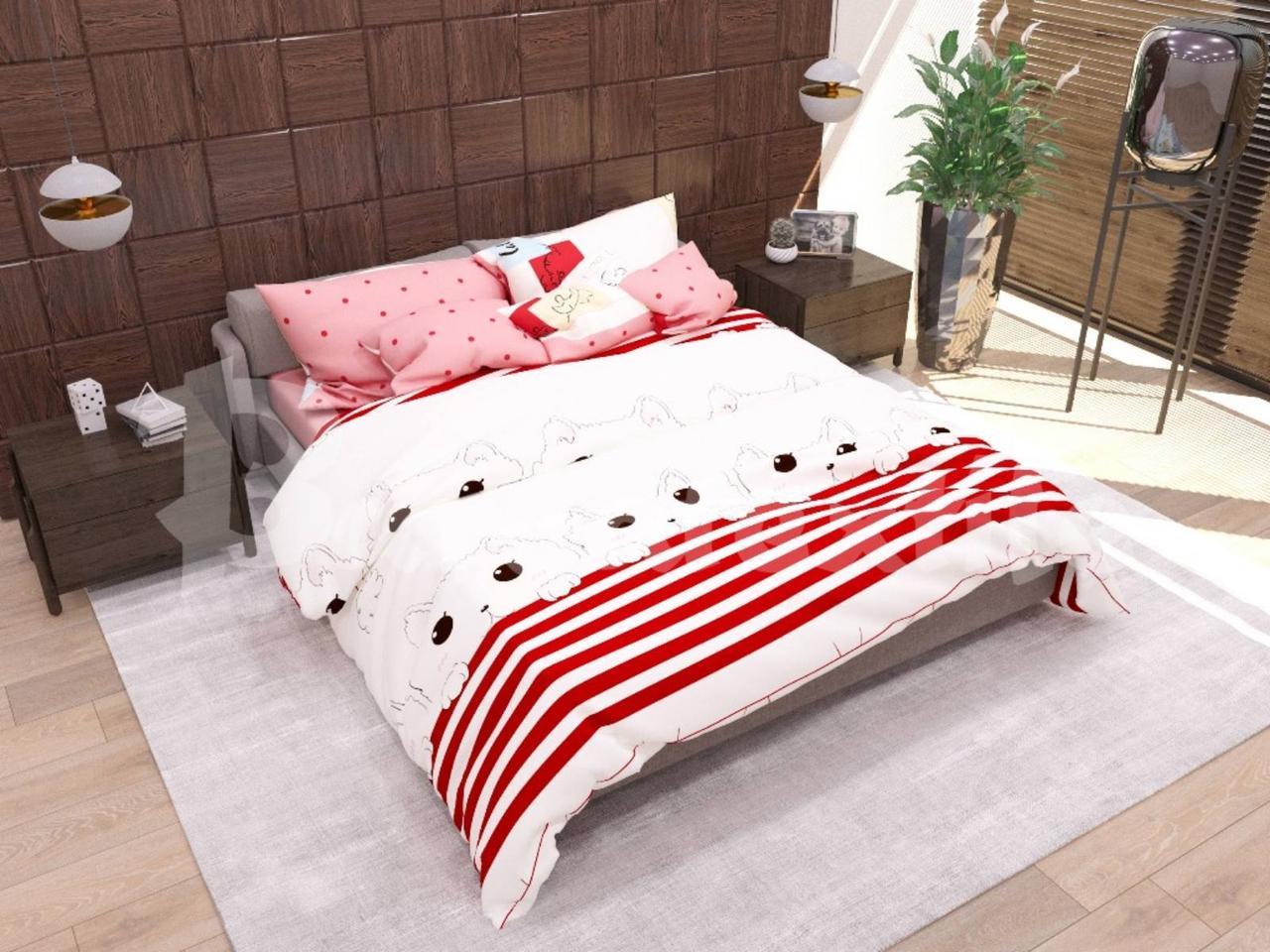 Двухспальный постельный комплект Миледи