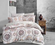Комплект постельного белья из фланели полуторный размер ТМ Aran Clasy MANILA