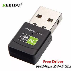 Wifi адаптер Kebidu 5/2.4 Ghz двохдіапазонний RTL8811CU driver Free version