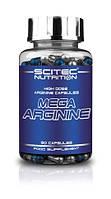 Предтренировочный комплекс Scitec Nutrition Mega Arginine (90 капс)