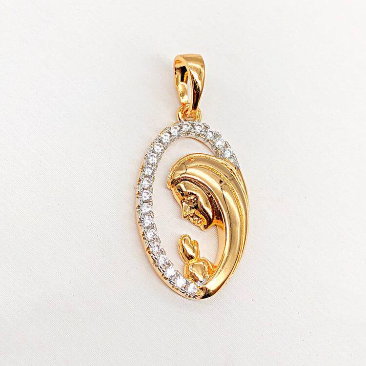 Кулон Xuping Jewelry медицинское золото, позолота 18К + родий. А/В 4569