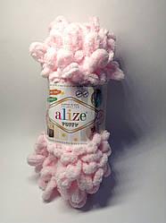 Пряжа для вязания руками без спиц Puffy  Alize (100 грамм - 9,2 метра)