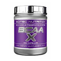 BCAA аминокислоты Scitec Nutrition BCAA X (330 капс)