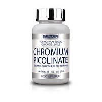Стабилизатор уровня сахара в крови Scitec Essentials Chromium Picolinate (100 таб)