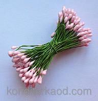 Тычинки для создания цветов (глянцевые на проволоке)