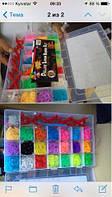 Набор резинок для браслета  Loom Band LB021 фосфорные код LB021