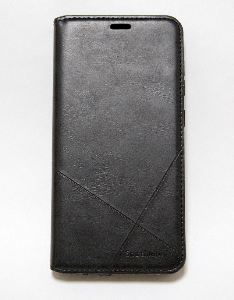 Чохол-книжка для смартфона Xiaomi Redmi Note 7 чорна MKA