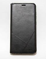 Чехол-книжка для смартфона Xiaomi Redmi Note 7 чёрная MKA