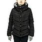 Женская Куртка Короткая Зима-Осень M (46-48) (WO001) Черная, фото 2