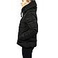 Женская Куртка Короткая Зима-Осень M (46-48) (WO001) Черная, фото 3