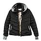 Женская Куртка Короткая Зима-Осень M (46-48) (WO001) Черная, фото 5