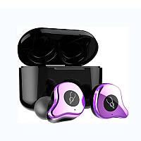 Беспроводные Bluetooth наушники Sabbat Е12 Ultra aptX Electro Violet