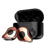 Беспроводные Bluetooth наушники Sabbat Е12 Ultra aptX Copper and Gold