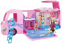 Игровой набор Барби Кемпер мечты трейлер для путешествий Barbie Dream Camper Mattel (FBR34)