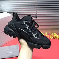 Кроссовки Dior D-connect Black черные женские