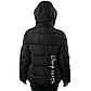 Женская Куртка Короткая Зима-Осень L (50) (WO005) Черная, фото 4