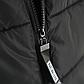 Женская Куртка Короткая Зима-Осень L (50) (WO005) Черная, фото 7