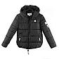 Женская Куртка Короткая Весна XL (52) (WO005) Черная, фото 5