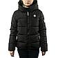 Женская Куртка Короткая Весна XL (52) (WO005) Черная, фото 2