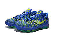 Мужские баскетбольные кроссовки Nike KD 8 (Blue/Green), фото 1