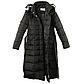 Женская Курточка Длинная Зимняя M (48) (WO002) Черная, фото 5