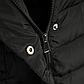 Женская Курточка Длинная Зимняя M (48) (WO002) Черная, фото 6