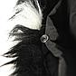 Женская Курточка Длинная Зимняя M (48) (WO002) Черная, фото 7