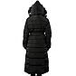Женская Курточка Длинная Зимняя XL (52) (WO002) Черная, фото 4