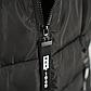 Женская Курточка Длинная Зимняя XL (52) (WO004) Черная, фото 7