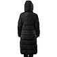 Женская Курточка Длинная Зимняя L (48-50) (WO905) Черная, фото 4