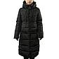 Женская Курточка Длинная Зимняя L (48-50) (WO905) Черная, фото 2