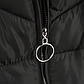 Женская Курточка Длинная Зимняя L (48-50) (WO905) Черная, фото 7