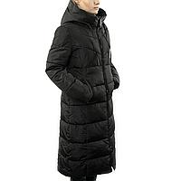 Женская Курточка Длинная Зимняя M (48) (WO905) Черная