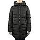 Женская Куртка Длинная Зима-Осень M (46-48) (WO003) Черная, фото 2